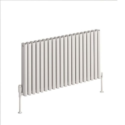 Reina Alco Horizontal Designer Radiator - 600mm High x 580mm Wide - Anthracite